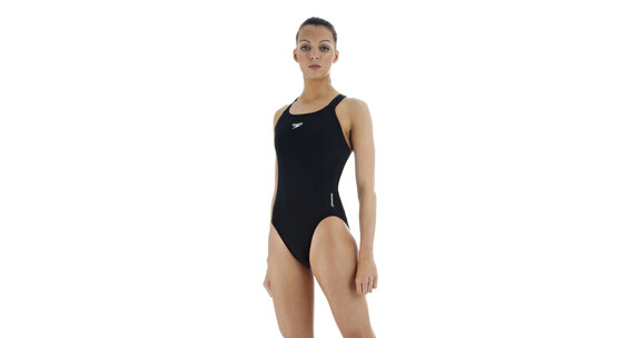 speedo Essential Endurance + Medalist Swimsuit Women black